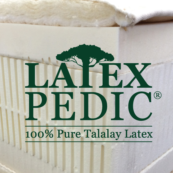 100% Pure Talalay Latex adjustable bed mattresses Irwindale natural beds organic