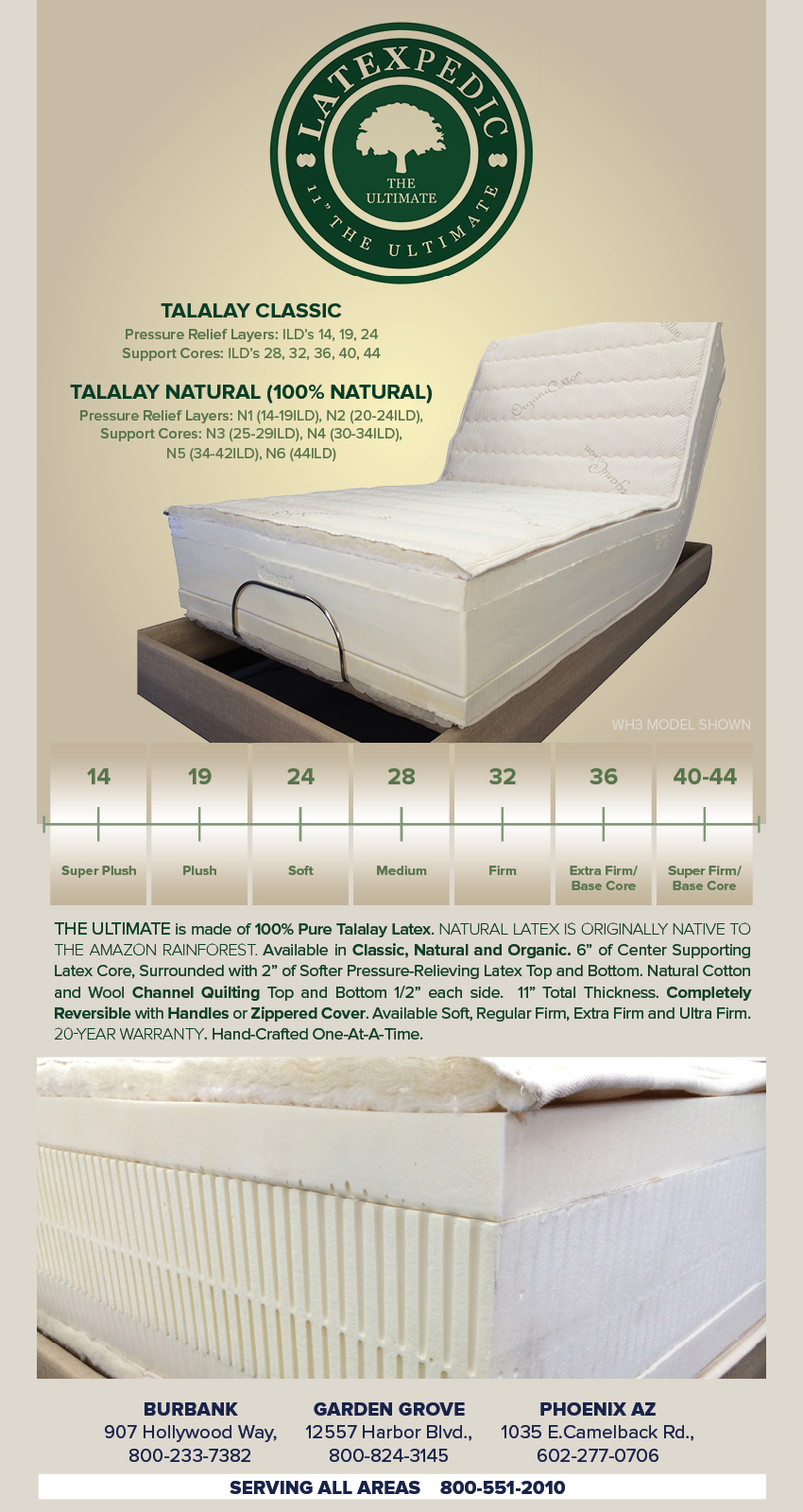 electro pedic adjustable beds options