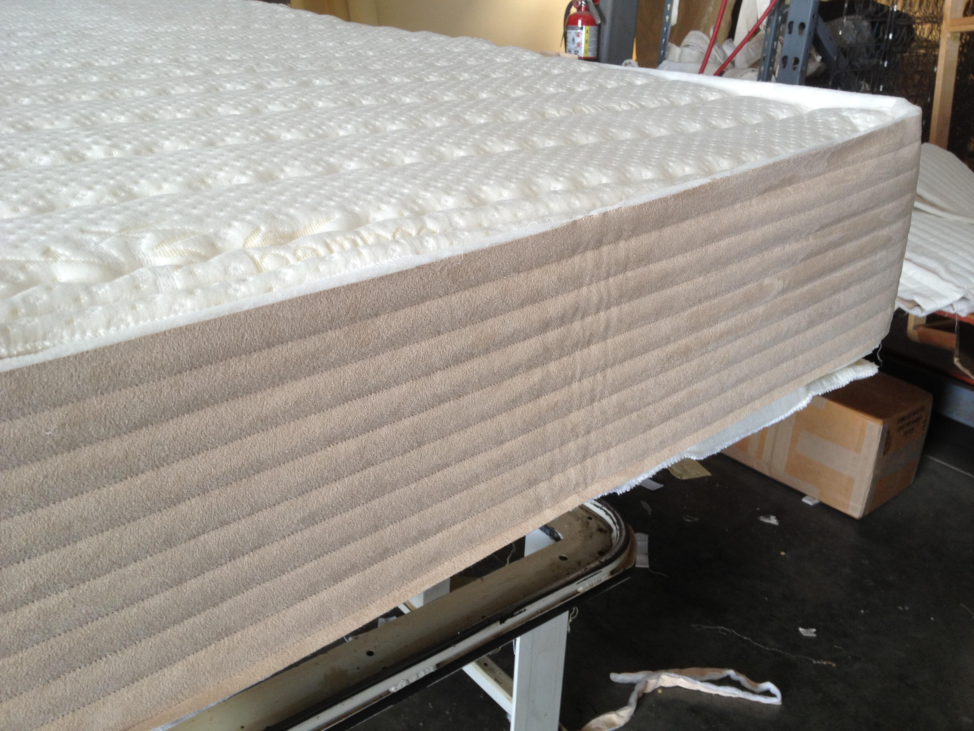 High Profile Latex Bed phoenix az mattress natural foam store